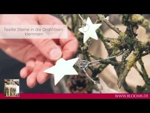 DIY Windlicht: Sternenzauber - YouTube