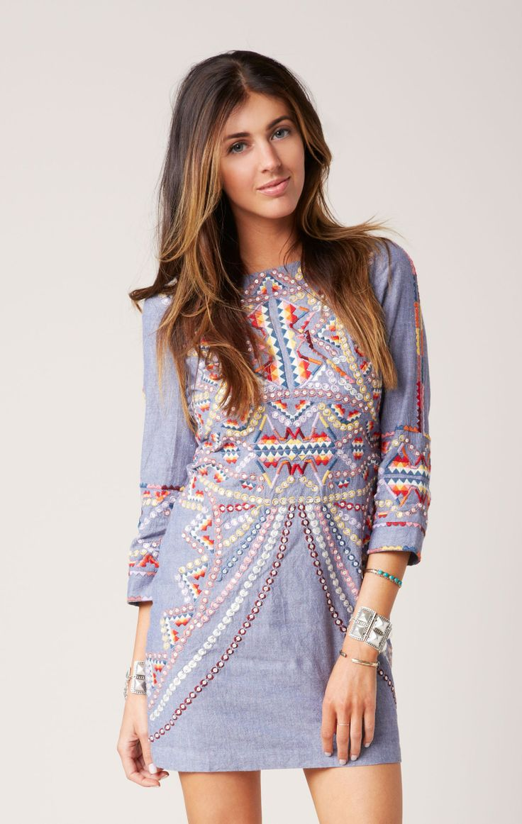 brian mini dress // Antik Batik #whatsnew #planetblue