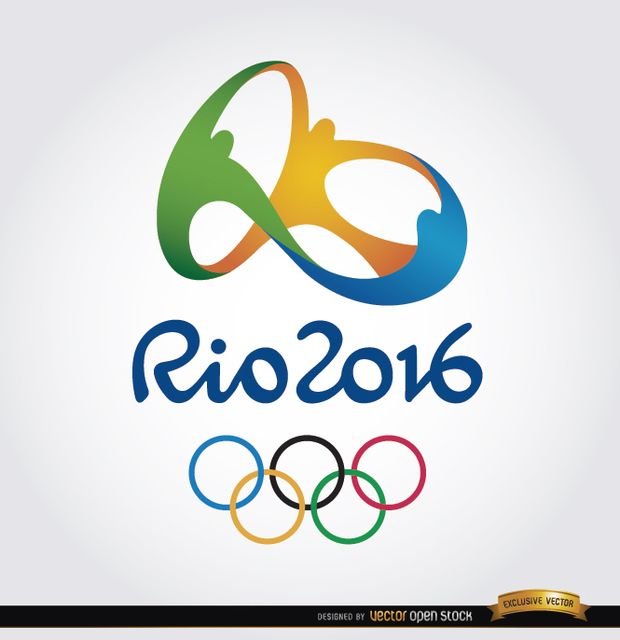 Rio 2016 Olympics are coming. And we have the official logo for this event in this background. Start preparing with your promos or campaigns related to this event with this vector. Under Commons 4.0. Attribution License.