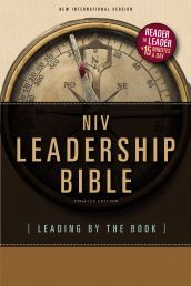 NIV LEADERSHIP BIBLE (SPECIALITY). If you have 15 minutes, you have time to become a great leader. Available from CUM Books.