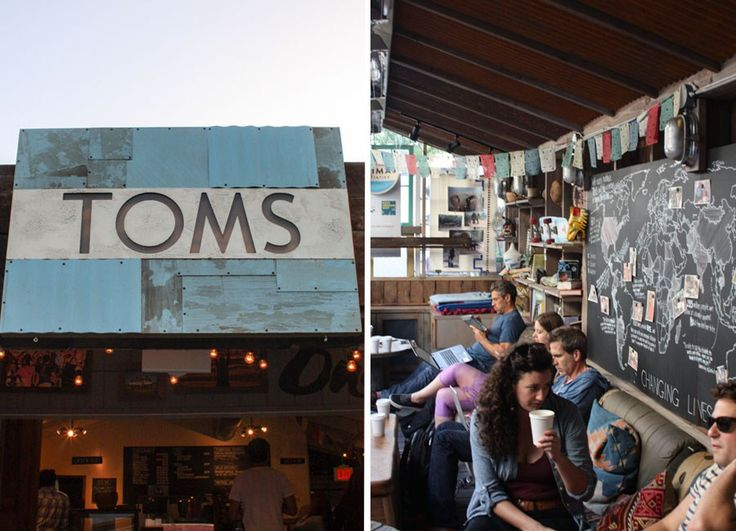 Yes, THAT Toms has branched out to make Toms Coffee, a direct trade cafe on Abbott-Kinney.