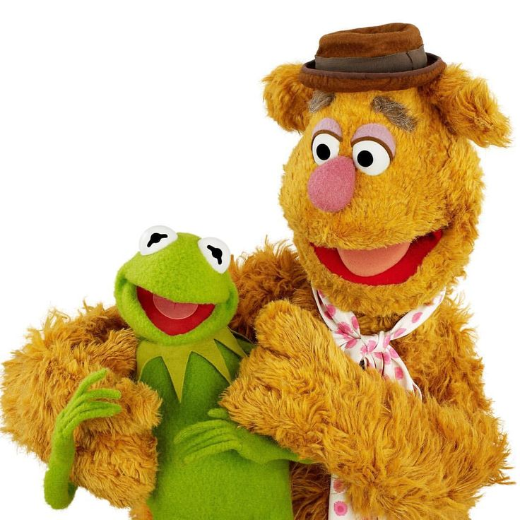 """15.2k Likes, 231 Comments - Kermit the Frog (@kermitthefrog) on Instagram: """"What would I do without my free-wheeling, fast-and-funniest friend Fozzie Bear? Laugh a lot less,…"""""""
