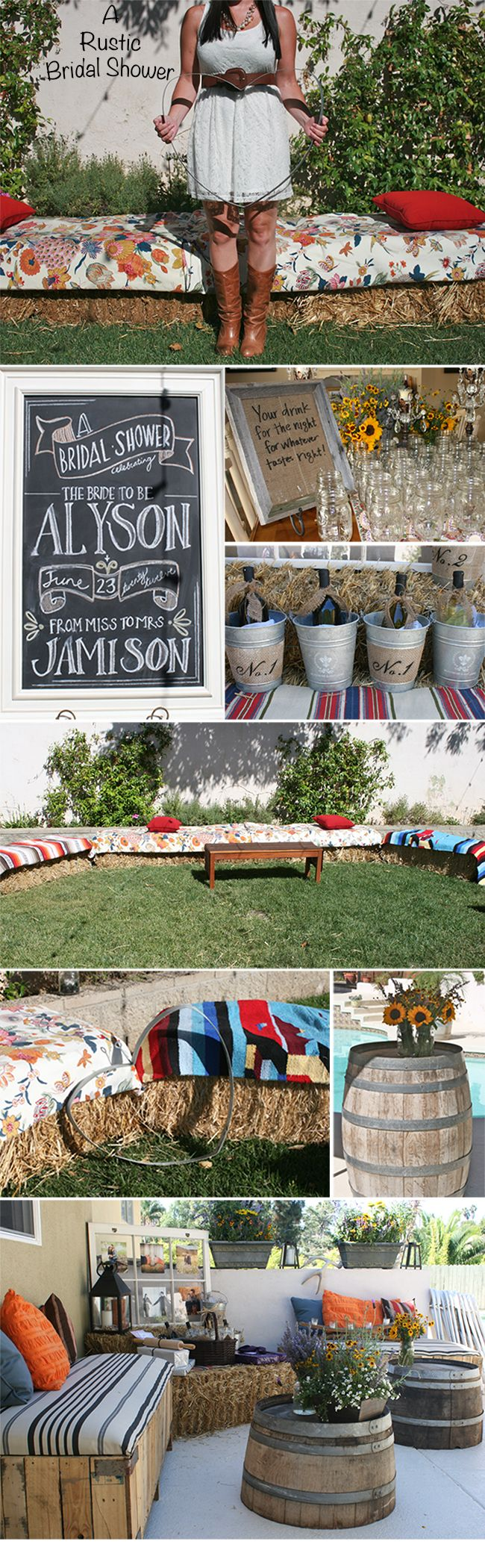 Rustic bridal shower! Love everything about this :)!