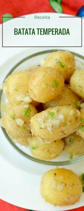 Receita de batata bolinha temperada
