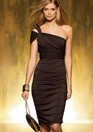 Dress for Hourglass figure Multiway from Victoria's Secret :)
