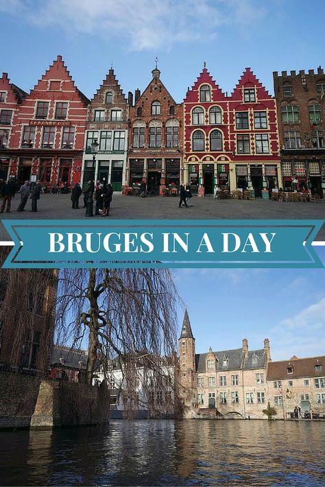 self guided walking tour of bruges belgium