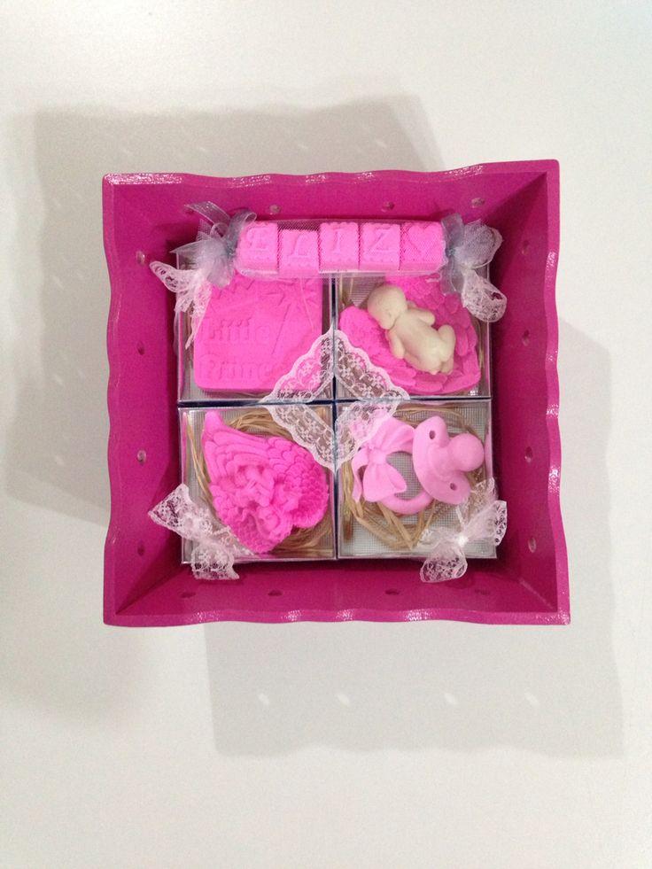 Soap set for little baby Eliz