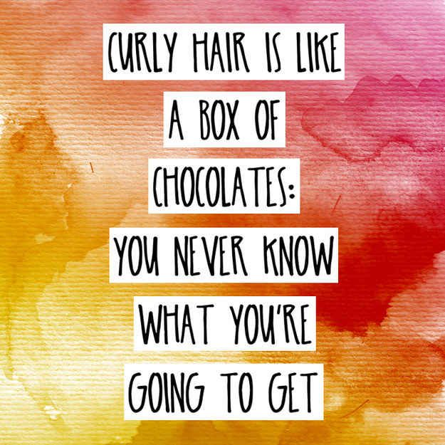 With curls, every day is an adventure.