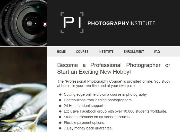 Welcome to The Photography Institute. The Diploma of Professional Photography Course is provided online. Study at home, in your own time and at your own pace!   #photography #thephotographyinstitute #pi #training #photographycourse #education