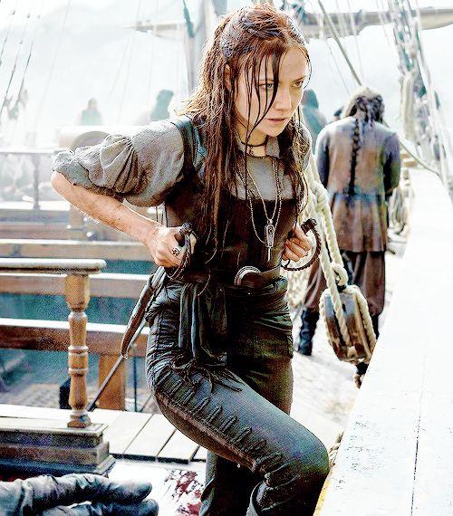 Chap.VII - Avilda ? || Clara Paget (Anne Bonny) Black Sails S03E10