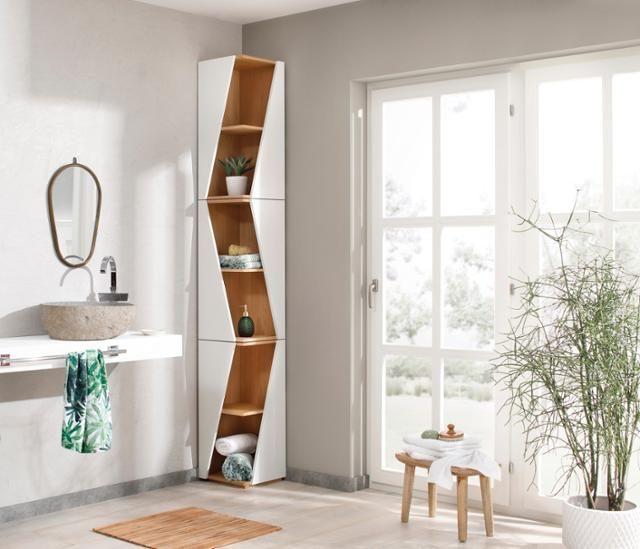 Badezimmermobel Einrichtungsideen Fur Dein Bad Eckregal Regal Mobel Fur Kleine Wohnungen