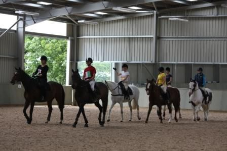 January 2012: KS4 learners on Equine courses at Broomfield Hall are among the young riders who are already benefiting from the College's new £650,000 indoor riding arena - enabling them to ride in all weathers, Completed in January 2012, the 60m x 35m indoor riding arena was built by Radleigh and is the latest building in the development of Derby College.