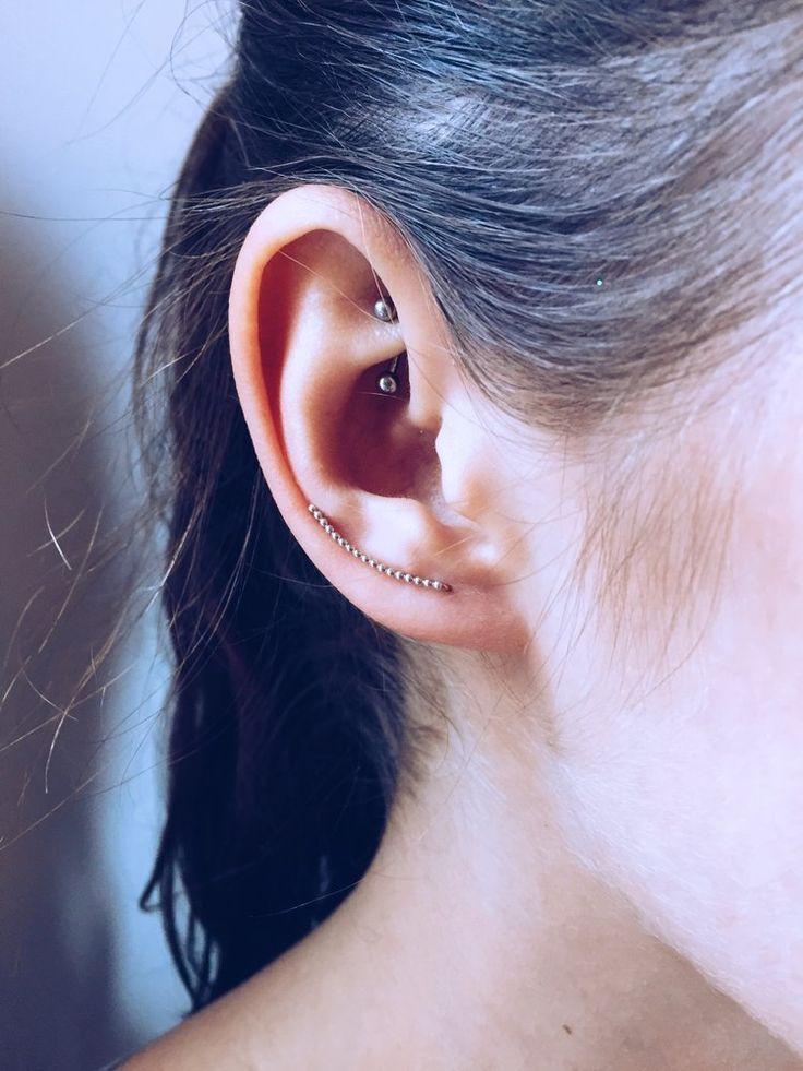 Rackk & Ruin // Stippled Ear Pin