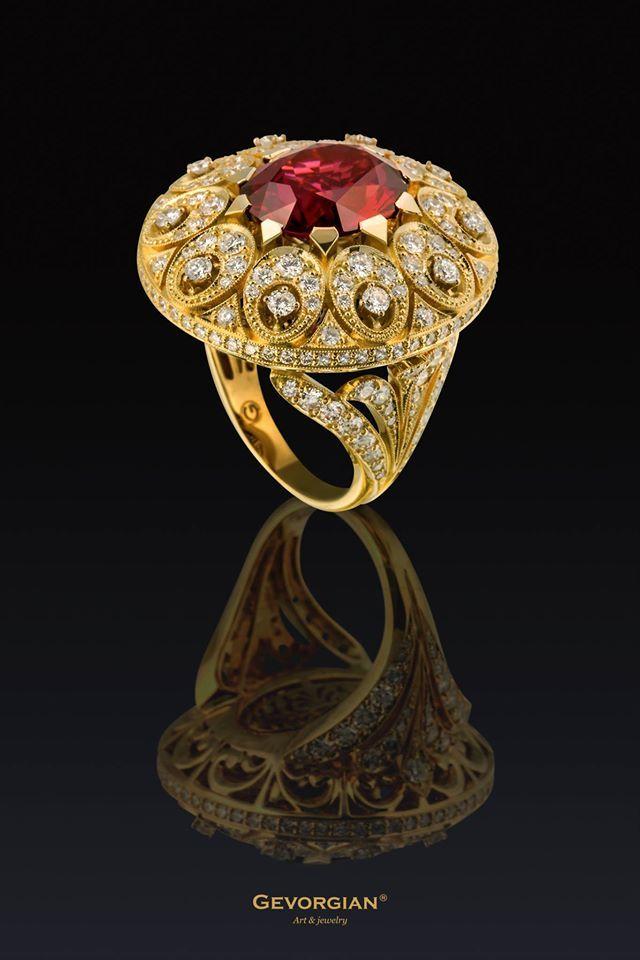 "Rosamaria G Frangini | High Classic Jewellery | TJS | ""Prince of Persia"" Ring"