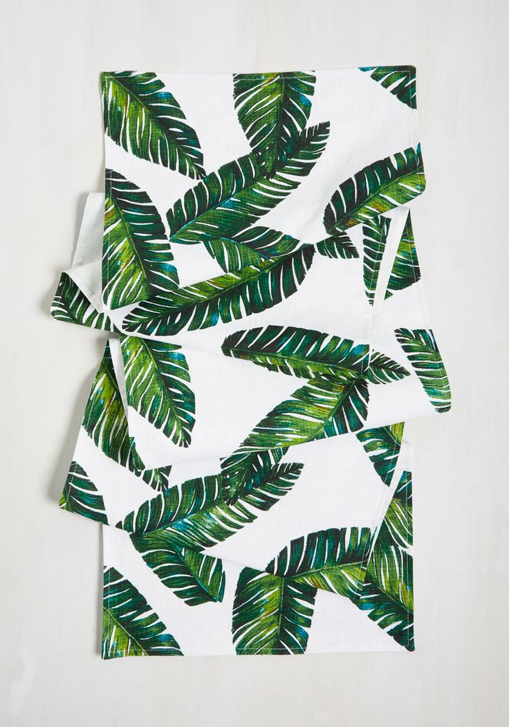 Leaf The Fest To Me Table Runner. Bring A Piece Of Paradise To Your Home