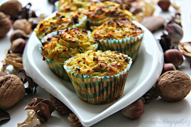 Zeleninové muffiny (od 8 měsíců)   Máma v kuchyni