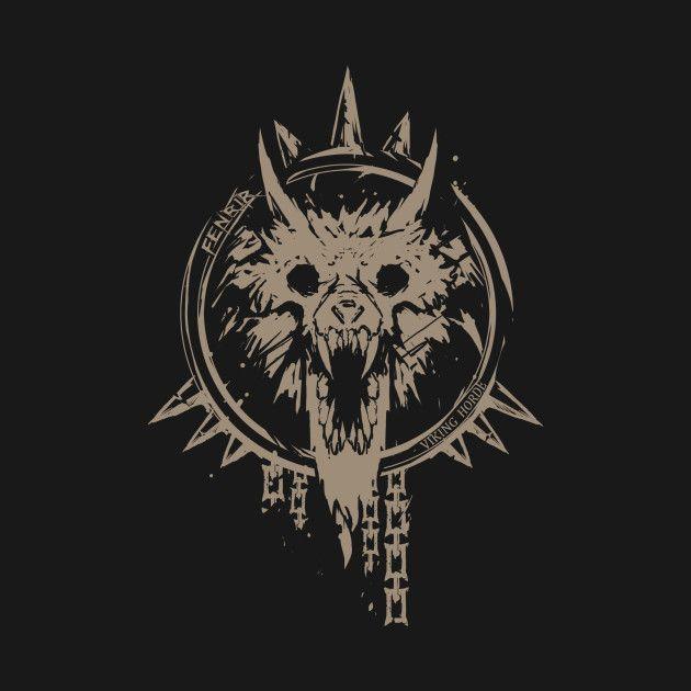 Fenrir Viking Horde By Dimidevos Art Norse Tattoo Nordic Tattoo