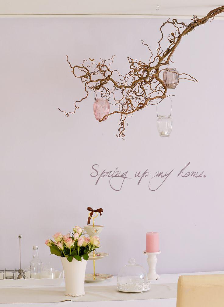 21 besten korkenzieherhasel bilder auf pinterest basteln deko selber machen und dekoration. Black Bedroom Furniture Sets. Home Design Ideas