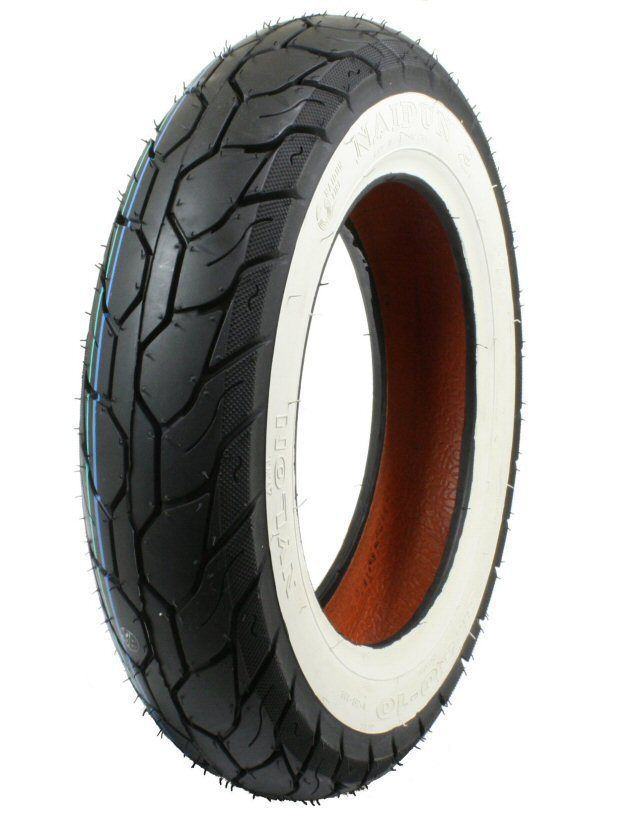 Scooter Tire Naidun 3.50-10 3.50X10 3.50 10 White Wall ...