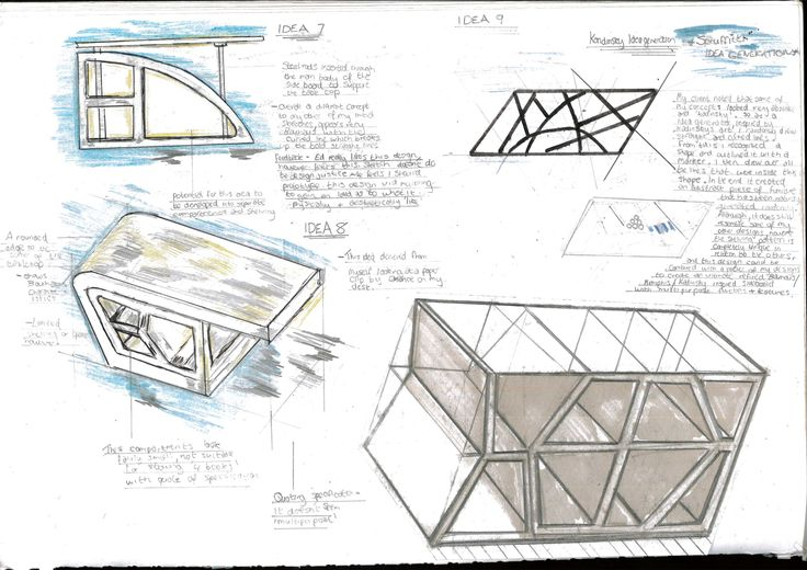 Concepts for a client specific sideboard/ Table and chair combo. A Level / AS