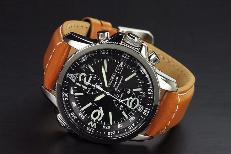 41 - Seiko Men's SSC081 Adventure-Solar Classic Casual Watch