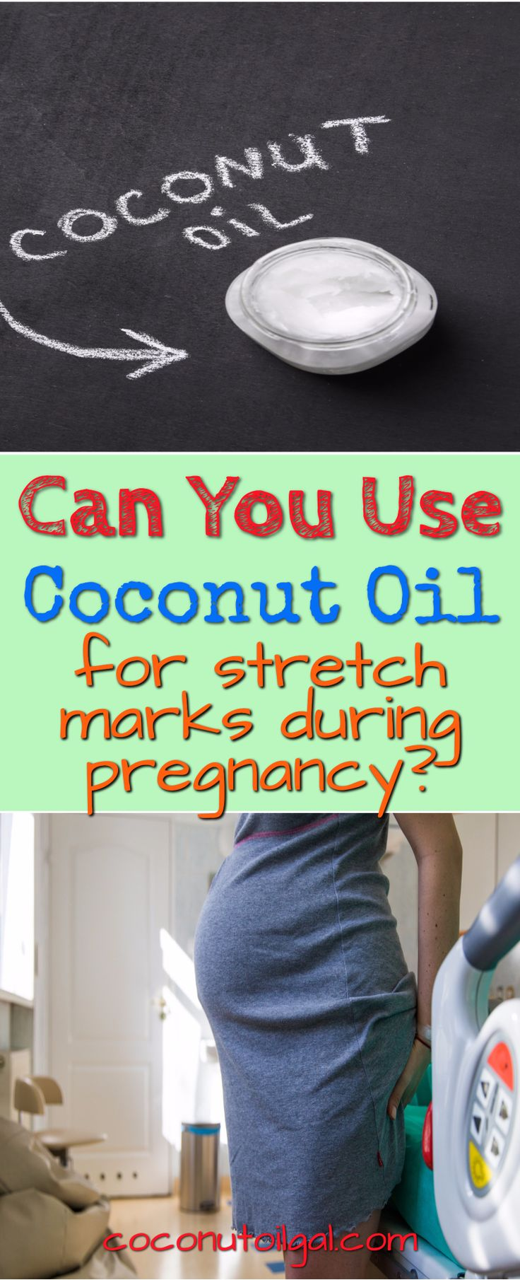 Wondering if using coconut oil to prevent stretch marks during pregnancy really works? How and why you should use coconut oil during pregnancy for your stretch marks.