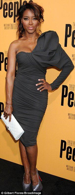 Form fitting: Real Housewives of Atlanta's Kenya Moore