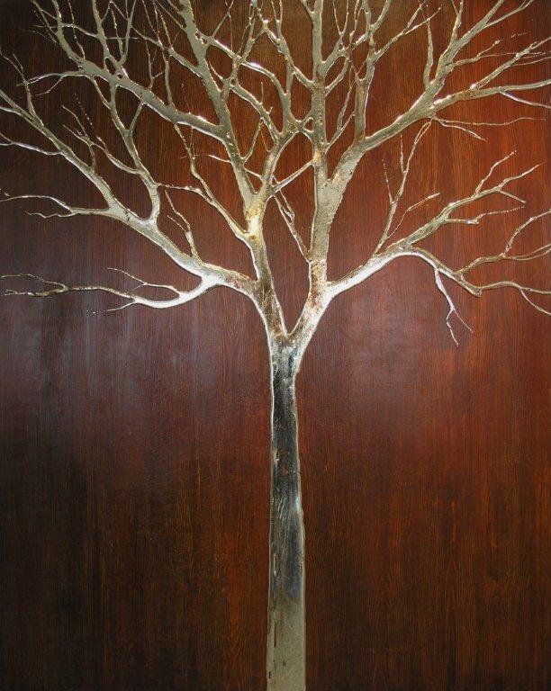 Woody woodgrain tree