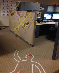 Halloween office do not enter from getitcut.com