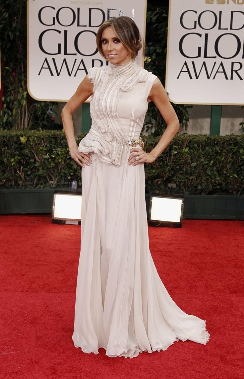 Giuliana rancic 2014 oscars paolo sebastian dress - Guiliana Rancic In Basil Soda At Golden Globes Love This Dress
