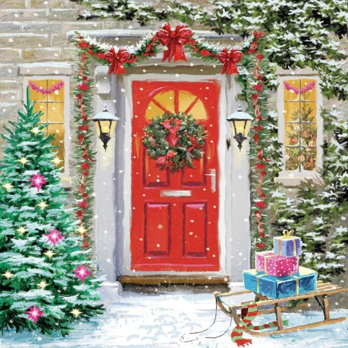 Christmas Front Door Clipart 61 best victor mclindon images on pinterest | christmas scenes