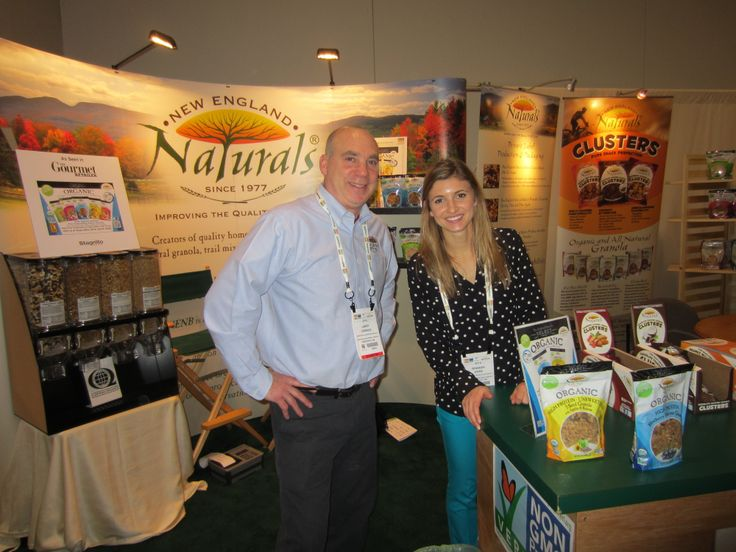 New England Naturals, maker of some pretty tasty organic granolas. Natural Products Expo West