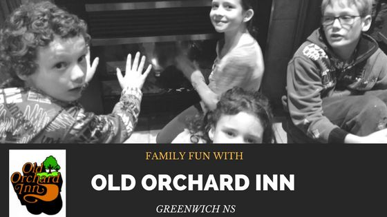 The Old Orchard Inn in Greenwich, NS, is a family-friendly place to stay. With a pool, great family-friendly restaurant and activities for kids, you can't go wrong!