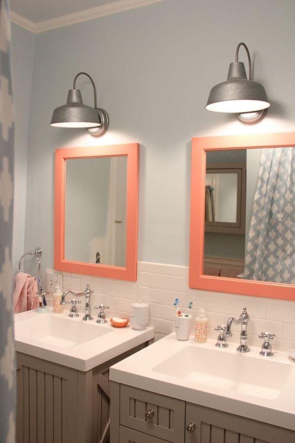 badezimmerlampen spiegel wandleuchten industrieller stil