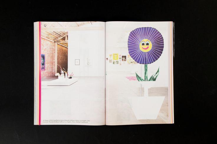 Mousse Magazine 55 ~ #andrewberardini #flowers #moussemagazine #contemporaryart #art #magazine