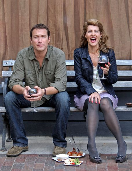 Nia Vardalos Photo - John Corbett and Nia Vardalos Film Together