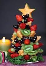 vegetable christmas tree - Google Search