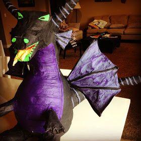 HOW TO: make a Dragon Pinata