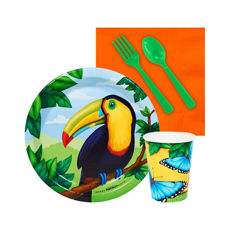 Jungle Party Snack Pack Kit,