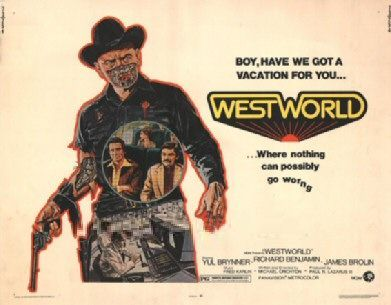 November 21st (1973): Westworld, Michael Crichton.    A robot malfunction creates havoc and terror for unsuspecting vacationers at a futuristic, adult-themed amusement park.