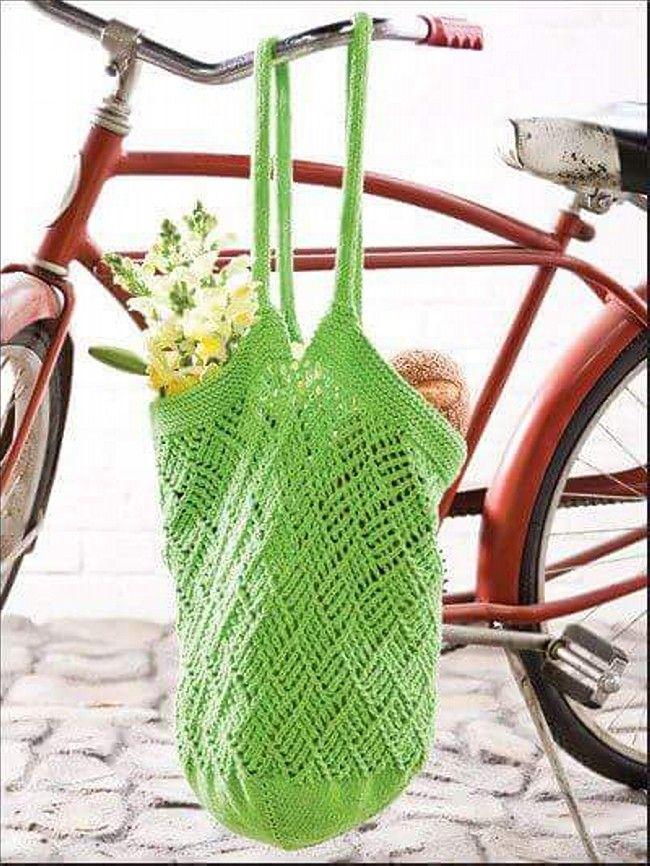 24 besten Crochet: BAGS (free patterns) Bilder auf Pinterest ...
