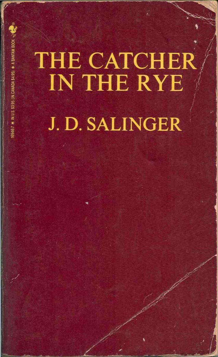 """""""Catcher in the rye"""" - J.D. Salinger"""