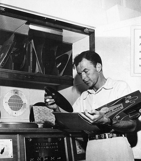 Frank Sinatra, HiFi nut, c.1950