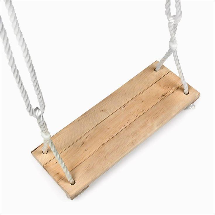 M s de 25 ideas incre bles sobre columpio de madera en for Columpios de madera para jardin