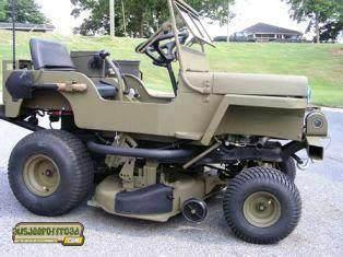 Jeep Mower !
