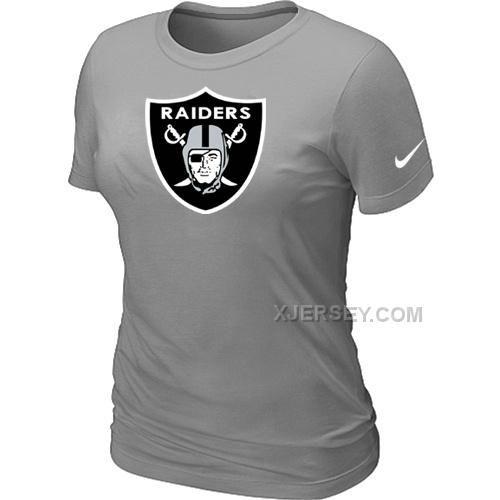 http://www.xjersey.com/okaland-raiders-lgrey-womens-logo-tshirt.html OKALAND RAIDERS L.GREY WOMEN'S LOGO T-SHIRT Only $26.00 , Free Shipping!