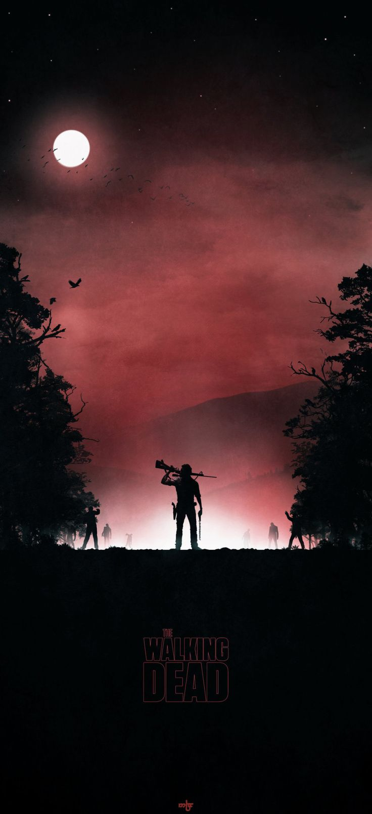 The Walking Dead Character Posters - Created by Colin Morella