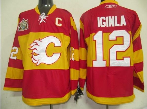 nhl jerseys calgary flames jarome iginla 12 red nhl calgary flames jerseys