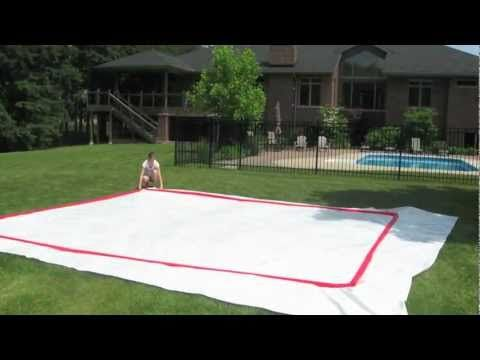 How to Build a Backyard Rink by RinkMaster Canada ...