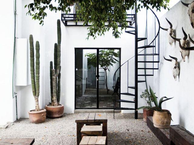 Les 205 meilleures images propos de terrasse terrace for Decorer une cour interieure